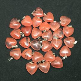 Hanger hart cherry Kwarts