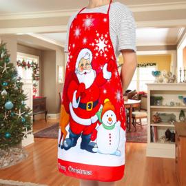 Kerstschort Santa