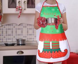 Kerstschort Santa little helper