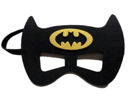 Geweldig leuk en stevig masker batman van vilt