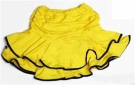 LATIN SALSA rokje geel/zwart