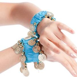 Buikdans sieraden, bindi's, face jewels en haarbanden
