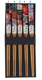 """Chopsticks / haarpennen """"Lucky cat"""""""