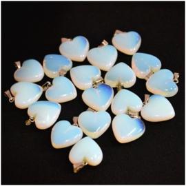 Hanger hart Opaliet
