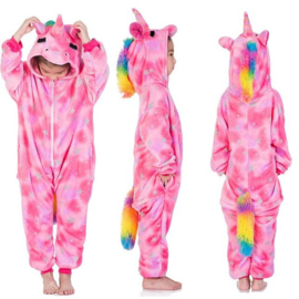 Superleuke Unicorn Onesie roze