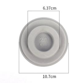 Armband ontwerpbordje 20 cm