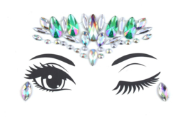 Bindi Face Jewel set multi turquoise nr.6