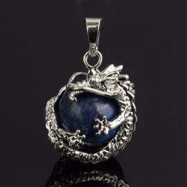 Drakenhanger Lapis Lazuli