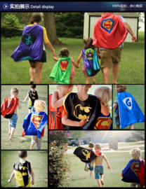 Spiderman cape + masker 8-12 jaar