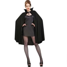 Mooie zwart satijnen Vampier cape!