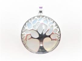 Prachtige levensboom hanger met Opaliet