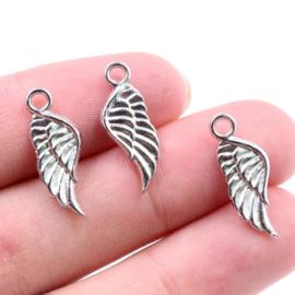 Bedel Engelenvleugeltje zilver 10 mm