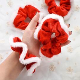 Kerst scrunchie!
