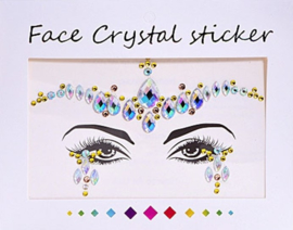 "Face Crystal sticker set ""Kroon"""