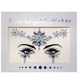 "Face Crystal sticker set ""Bloem"""