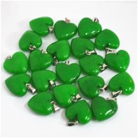 Hanger hart maleisische Jade