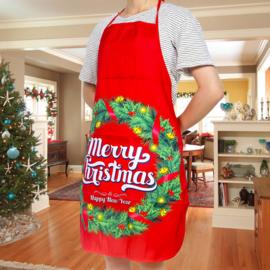 Kerstschort Merry Christmas