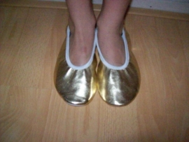 Mooie gouden ballerina`s