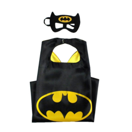 Batman cape + masker 8-12 jaar