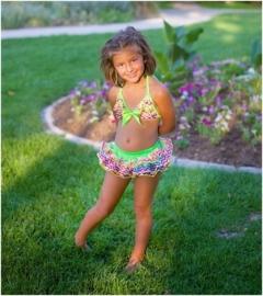 Geweldige meisjes bikini regenboog
