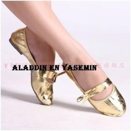 Gouden bellydance ballerina`s