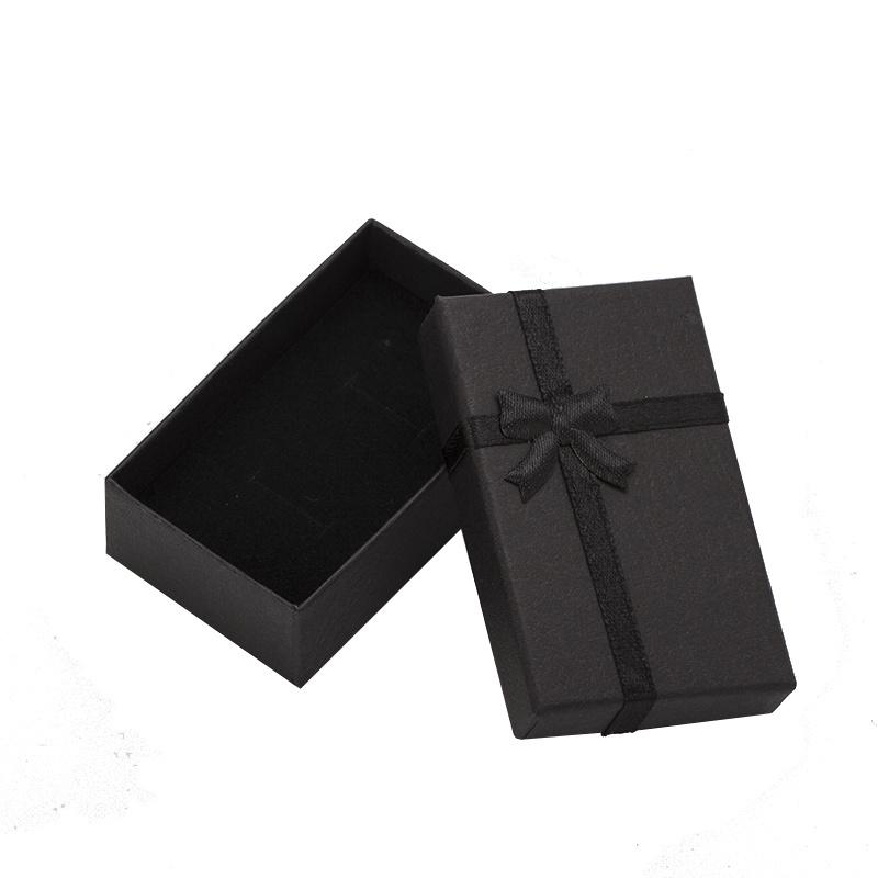 Sieraad geschenk doosje zwart