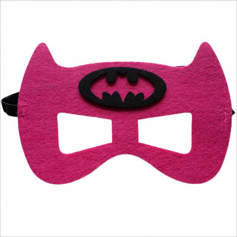 Geweldig leuk en stevig masker batwoman van vilt