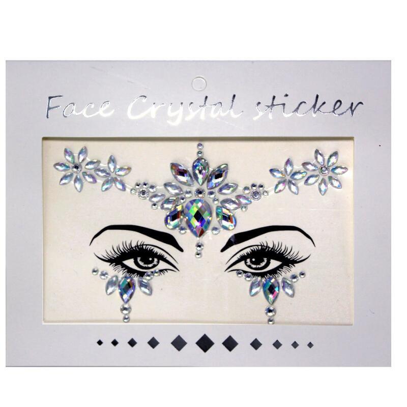 "Face Crystal sticker set ""Bloem"""