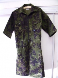 CAMOUFLAGE OVERALL UITLOPEND