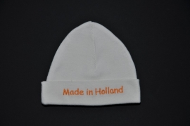 "Babymutsje  ""Made in Holland"""