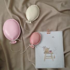 Set Ballonnen ovaal leer