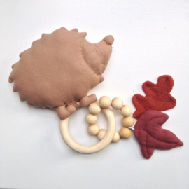 Rammelaar & Bijtring Hedgehog roest ( te personaliseren )