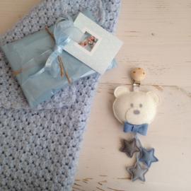 Wagen - maxi-cosi hanger Teddy blauw