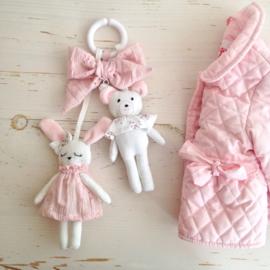 Play hanger bunny and bear de luxe