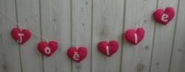 Naamslinger hart