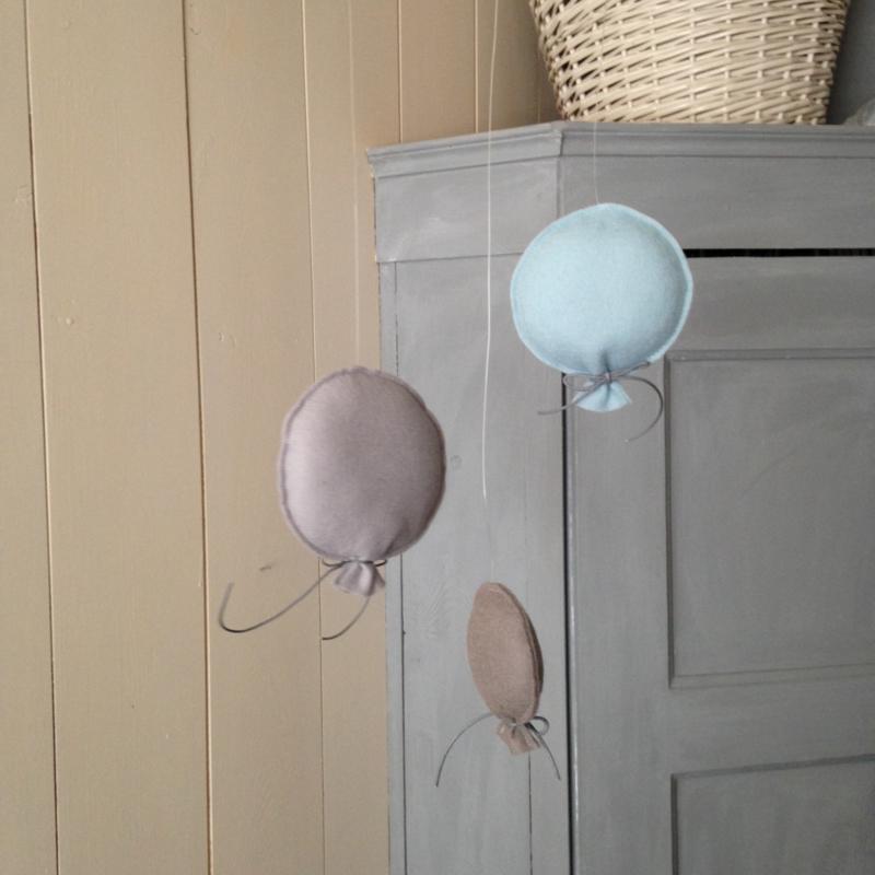 Set ballonnen vilt