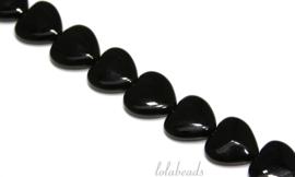 10 Strengen Onyx kralen harten ca. 25mm
