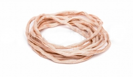 LIGHT PINK: Griffin zijde band 3,0mm