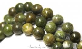10 strengen Taiwan Jade kralen rond ca. 10mm