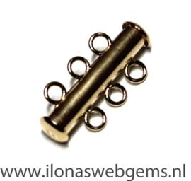 Gold Filled Magneetslotjes