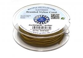 AMBER: Griffin 'braided' nylon koord (per 5 rollen)