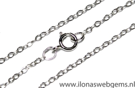 Sterling zilveren ketting en schakels