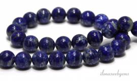 10 stengen Lapis Lazuli rond ca.10mm