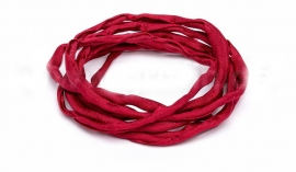 RED: Griffin zijde band 3,0mm