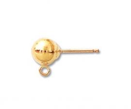 Gold Filled Oorknopjes en poussettes