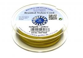 YELLOW: Griffin 'braided' nylon koord (per 5 rollen)