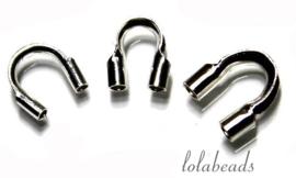 Sterling zilveren draadbeschermers/geleiders