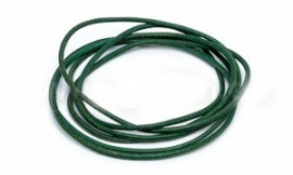 GREEN: Griffin koord leer 1,3mm / 1 meter