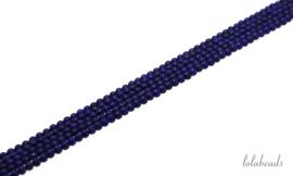 10 strengen Lapis Lazuli rond ca. 2mm AA kwaliteit