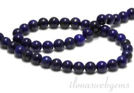 10 strengen Lapis Lazuli 10mm